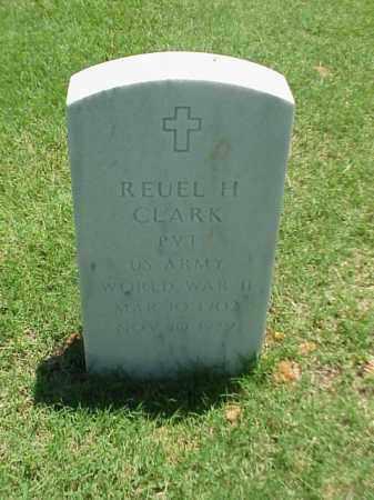 CLARK (VETERAN WWII), REUEL H - Pulaski County, Arkansas | REUEL H CLARK (VETERAN WWII) - Arkansas Gravestone Photos