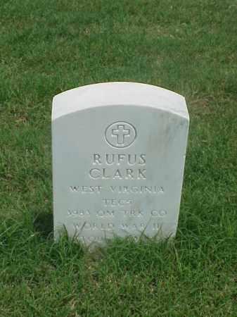 CLARK (VETERAN WWII), RUFUS - Pulaski County, Arkansas | RUFUS CLARK (VETERAN WWII) - Arkansas Gravestone Photos