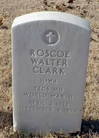 CLARK (VETERAN WWII), ROSCOE WALTER - Pulaski County, Arkansas   ROSCOE WALTER CLARK (VETERAN WWII) - Arkansas Gravestone Photos
