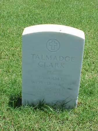 CLARK (VETERAN WWII), TALMADGE - Pulaski County, Arkansas | TALMADGE CLARK (VETERAN WWII) - Arkansas Gravestone Photos