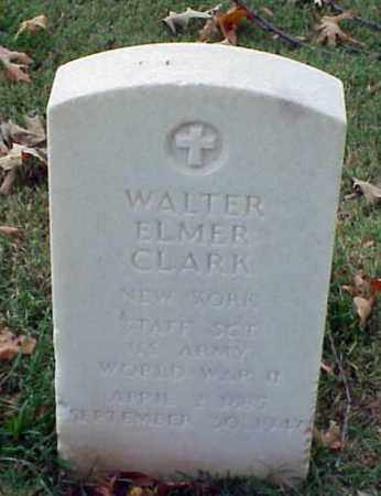 CLARK (VETERAN WWII), WALTER ELMER - Pulaski County, Arkansas | WALTER ELMER CLARK (VETERAN WWII) - Arkansas Gravestone Photos