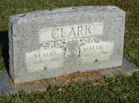 CLARK, MATTIE B. - Pulaski County, Arkansas | MATTIE B. CLARK - Arkansas Gravestone Photos