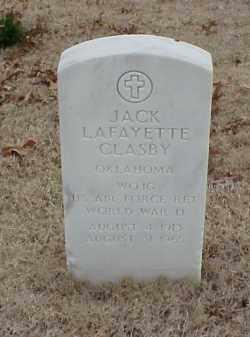 CLASBY  (VETERAN 2 WARS), JACK LAFAYETTE - Pulaski County, Arkansas | JACK LAFAYETTE CLASBY  (VETERAN 2 WARS) - Arkansas Gravestone Photos