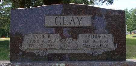 CLAY, ARTHUR L. - Pulaski County, Arkansas | ARTHUR L. CLAY - Arkansas Gravestone Photos