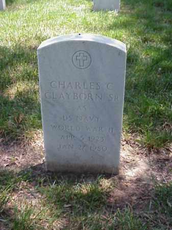CLAYBORN, SR (VETERAN WWII), CHARLES C - Pulaski County, Arkansas | CHARLES C CLAYBORN, SR (VETERAN WWII) - Arkansas Gravestone Photos