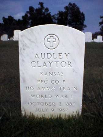 CLAYTOR (VETERAN WWI), AUDLEY - Pulaski County, Arkansas | AUDLEY CLAYTOR (VETERAN WWI) - Arkansas Gravestone Photos