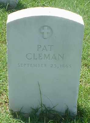 CLEMAN, PAT - Pulaski County, Arkansas | PAT CLEMAN - Arkansas Gravestone Photos