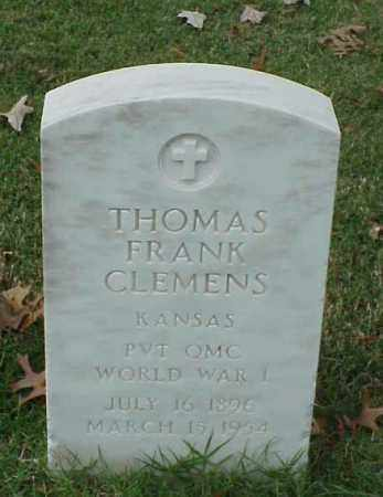 CLEMENS (VETERAN WWI), THOMAS FRANK - Pulaski County, Arkansas | THOMAS FRANK CLEMENS (VETERAN WWI) - Arkansas Gravestone Photos