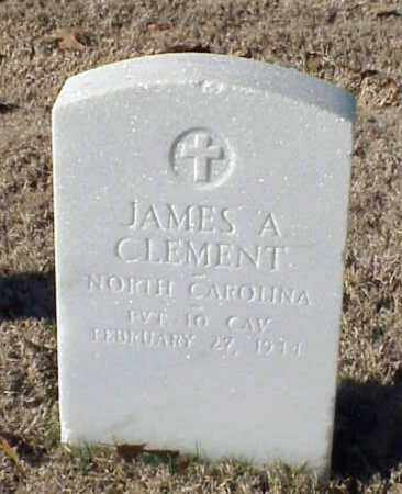 CLEMENT (VETERAN SAW), JAMES A - Pulaski County, Arkansas | JAMES A CLEMENT (VETERAN SAW) - Arkansas Gravestone Photos