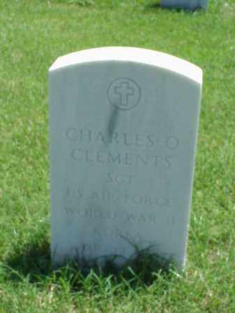 CLEMENTS (VETERAN 2 WARS), CHARLES O - Pulaski County, Arkansas | CHARLES O CLEMENTS (VETERAN 2 WARS) - Arkansas Gravestone Photos