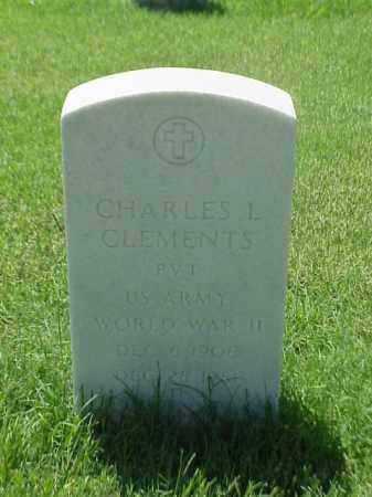 CLEMENTS (VETERAN WWII), CHARLES L - Pulaski County, Arkansas | CHARLES L CLEMENTS (VETERAN WWII) - Arkansas Gravestone Photos