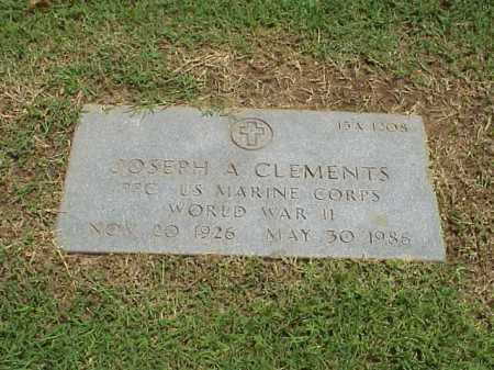 CLEMENTS (VETERAN WWII), JOSEPH A - Pulaski County, Arkansas | JOSEPH A CLEMENTS (VETERAN WWII) - Arkansas Gravestone Photos