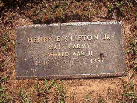 CLIFTON, JR (VETERAN WWII), HENRY E - Pulaski County, Arkansas | HENRY E CLIFTON, JR (VETERAN WWII) - Arkansas Gravestone Photos