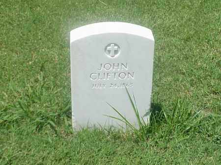 CLIFTON, JOHN - Pulaski County, Arkansas | JOHN CLIFTON - Arkansas Gravestone Photos