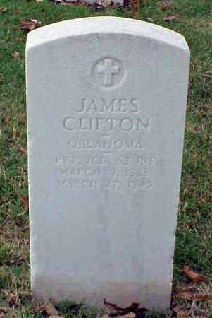 CLIFTON (VETERAN WWI), JAMES - Pulaski County, Arkansas | JAMES CLIFTON (VETERAN WWI) - Arkansas Gravestone Photos