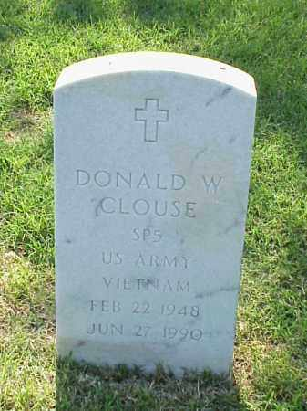 CLOUSE (VETERAN VIET), DONALD W - Pulaski County, Arkansas | DONALD W CLOUSE (VETERAN VIET) - Arkansas Gravestone Photos
