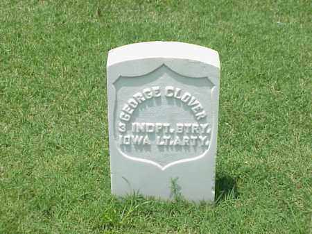 CLOVER (VETERAN UNION), GEORGE - Pulaski County, Arkansas | GEORGE CLOVER (VETERAN UNION) - Arkansas Gravestone Photos