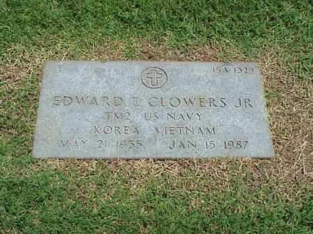 CLOWERS, JR (VETERAN 2 WARS), EDWARD E - Pulaski County, Arkansas | EDWARD E CLOWERS, JR (VETERAN 2 WARS) - Arkansas Gravestone Photos