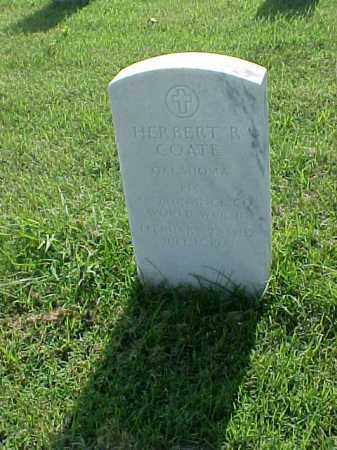 COATE (VETERAN WWII), HERBERT R - Pulaski County, Arkansas | HERBERT R COATE (VETERAN WWII) - Arkansas Gravestone Photos