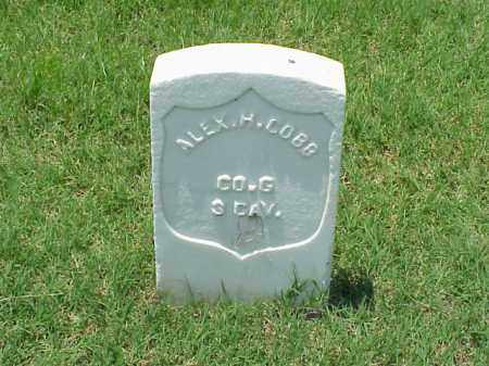 COB (VETERAN UNION), ALEX H - Pulaski County, Arkansas | ALEX H COB (VETERAN UNION) - Arkansas Gravestone Photos