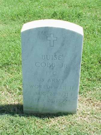 COBB, JR (VETERAN WWII), BUISE - Pulaski County, Arkansas | BUISE COBB, JR (VETERAN WWII) - Arkansas Gravestone Photos