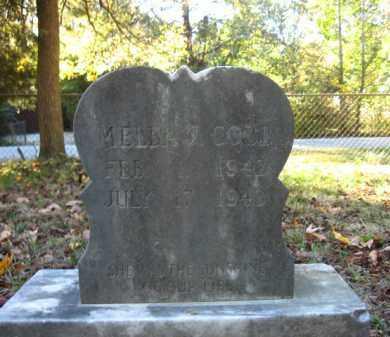 COBB, MELBA J - Pulaski County, Arkansas | MELBA J COBB - Arkansas Gravestone Photos