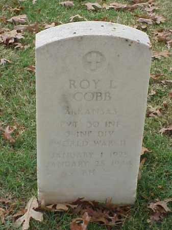 COBB (VETERAN WWII), ROY L - Pulaski County, Arkansas | ROY L COBB (VETERAN WWII) - Arkansas Gravestone Photos