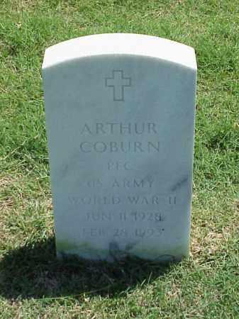 COBURN (VETERAN WWII), ARTHUR - Pulaski County, Arkansas | ARTHUR COBURN (VETERAN WWII) - Arkansas Gravestone Photos