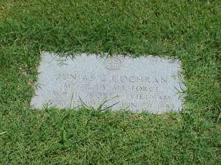 COCHRAN (VETERAN 3 WARS), JUNIAS C - Pulaski County, Arkansas | JUNIAS C COCHRAN (VETERAN 3 WARS) - Arkansas Gravestone Photos