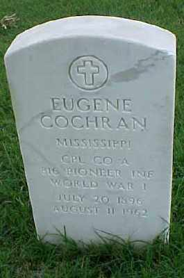 COCHRAN (VETERAN WWI), EUGENE - Pulaski County, Arkansas | EUGENE COCHRAN (VETERAN WWI) - Arkansas Gravestone Photos