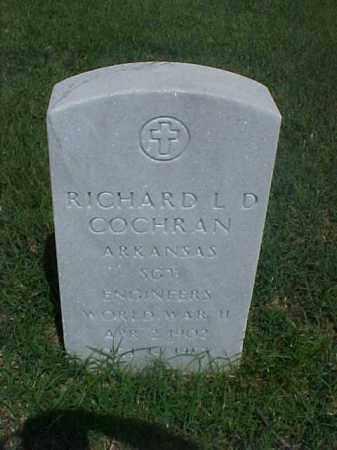 COCHRAN (VETERAN WWII), RICHARD L D - Pulaski County, Arkansas | RICHARD L D COCHRAN (VETERAN WWII) - Arkansas Gravestone Photos