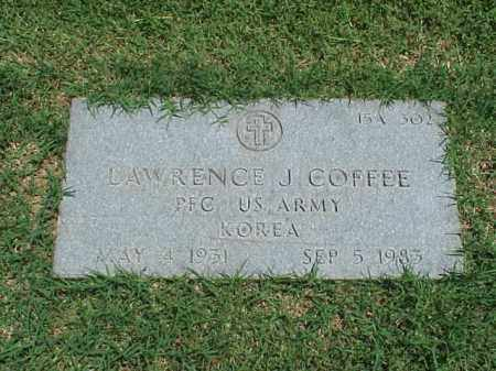 COFFEE (VETERAN KOR), LAWRENCE J - Pulaski County, Arkansas | LAWRENCE J COFFEE (VETERAN KOR) - Arkansas Gravestone Photos