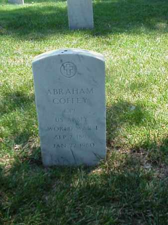 COFFEY (VETERAN WWI), ABRAHAM - Pulaski County, Arkansas | ABRAHAM COFFEY (VETERAN WWI) - Arkansas Gravestone Photos