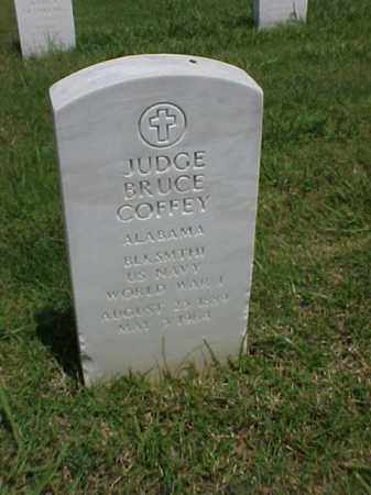 COFFEY (VETERAN WWI), JUDGE BRUCE - Pulaski County, Arkansas | JUDGE BRUCE COFFEY (VETERAN WWI) - Arkansas Gravestone Photos