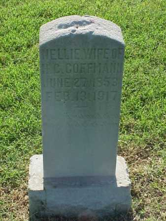 COFFMANN, NELLIE - Pulaski County, Arkansas | NELLIE COFFMANN - Arkansas Gravestone Photos