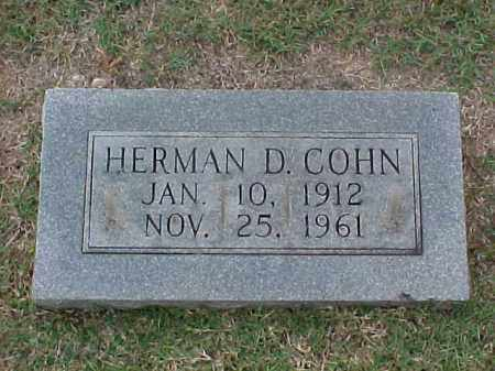 COHN, HERMAN D - Pulaski County, Arkansas | HERMAN D COHN - Arkansas Gravestone Photos