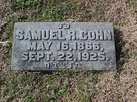 COHN, SAMUEL R - Pulaski County, Arkansas | SAMUEL R COHN - Arkansas Gravestone Photos
