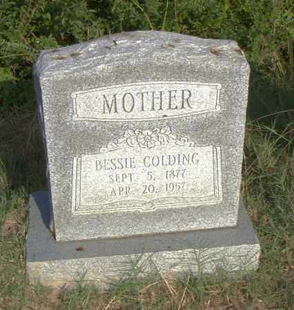 COLDING, BESSIE - Pulaski County, Arkansas | BESSIE COLDING - Arkansas Gravestone Photos
