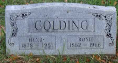 COLDING, ROSIE - Pulaski County, Arkansas | ROSIE COLDING - Arkansas Gravestone Photos