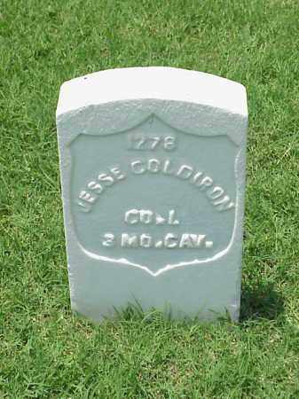 COLDIRON (VETERAN UNION), JESSE - Pulaski County, Arkansas | JESSE COLDIRON (VETERAN UNION) - Arkansas Gravestone Photos