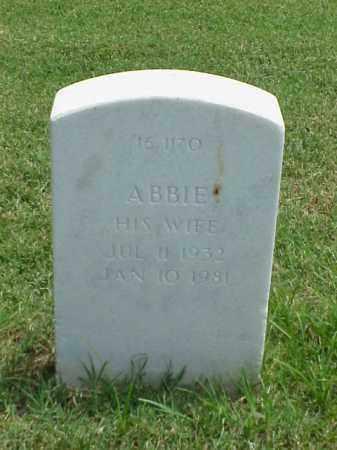 COLE, ABBIE - Pulaski County, Arkansas | ABBIE COLE - Arkansas Gravestone Photos