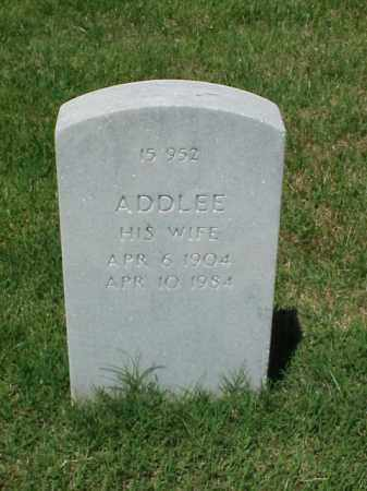 COLE, ADDLEE - Pulaski County, Arkansas | ADDLEE COLE - Arkansas Gravestone Photos