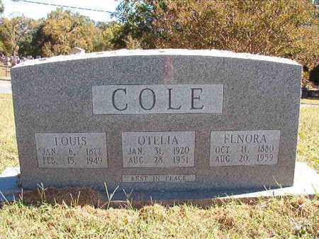 COLE, ELNORA - Pulaski County, Arkansas | ELNORA COLE - Arkansas Gravestone Photos