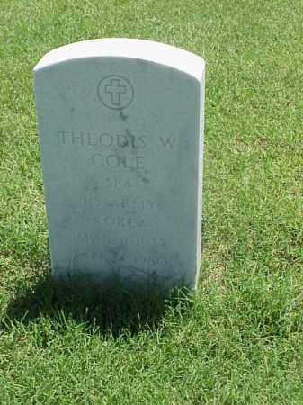 COLE (VETERAN KOR), THEODUS W - Pulaski County, Arkansas | THEODUS W COLE (VETERAN KOR) - Arkansas Gravestone Photos