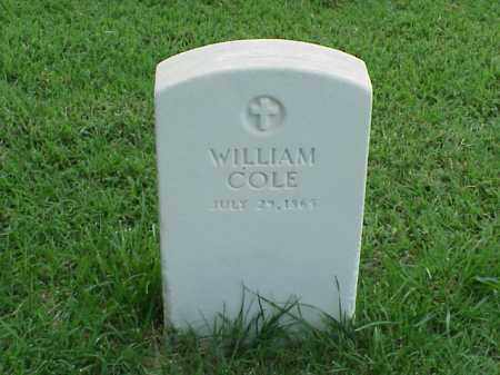 COLE, WILLIAM - Pulaski County, Arkansas | WILLIAM COLE - Arkansas Gravestone Photos
