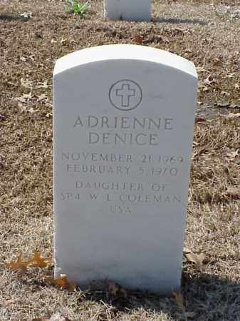 COLEMAN, ADRIENNE DENICE - Pulaski County, Arkansas | ADRIENNE DENICE COLEMAN - Arkansas Gravestone Photos