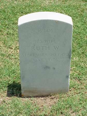 COLEMAN, RUTH W - Pulaski County, Arkansas | RUTH W COLEMAN - Arkansas Gravestone Photos