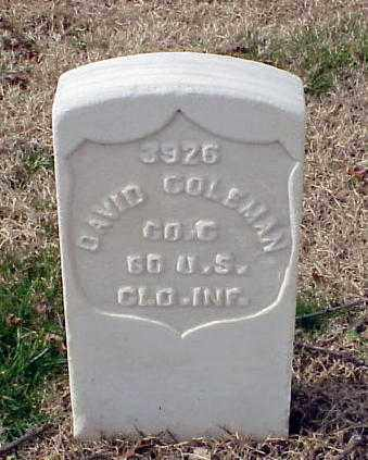 COLEMAN (VETERAN UNION), DAVID - Pulaski County, Arkansas | DAVID COLEMAN (VETERAN UNION) - Arkansas Gravestone Photos