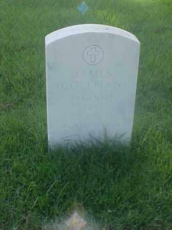 COLEMAN (VETERAN WWII), JAMES - Pulaski County, Arkansas | JAMES COLEMAN (VETERAN WWII) - Arkansas Gravestone Photos