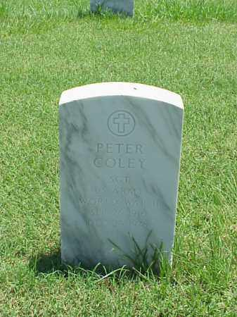 COLEY (VETERAN WWII), PETER - Pulaski County, Arkansas | PETER COLEY (VETERAN WWII) - Arkansas Gravestone Photos